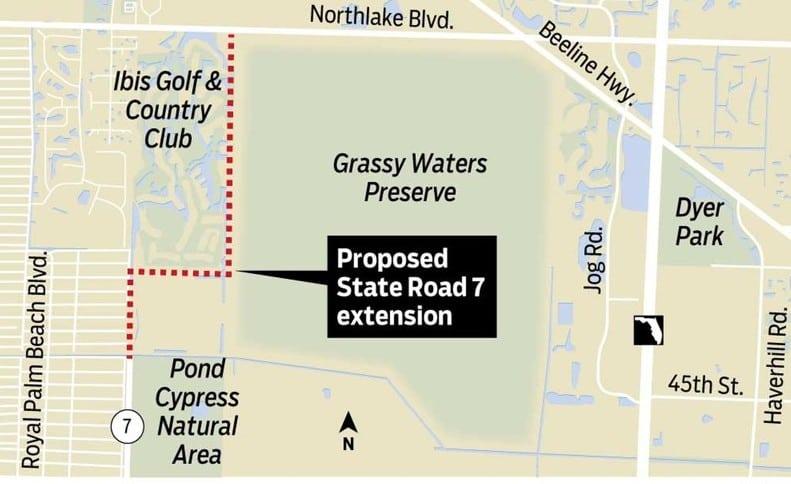 SR 7 extension plan
