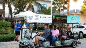 golf cart taxi service